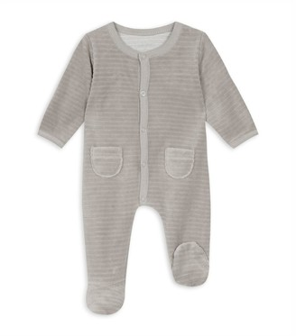 Absorba Textured Striped Velour All-In-One (0-18 Months)