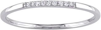 Stella Grace 10k White Gold Diamond Accent Wedding Band