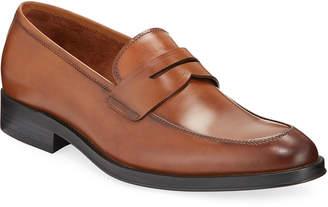 Kenneth Cole Men's Leather Penny Loafer Slip-On Dress Shoes