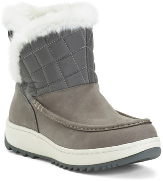 Insulated Seam Sealed Waterproof Suede Boots