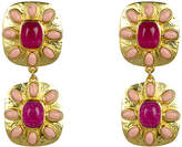 VALERE Jade And Coral Maria Earrings