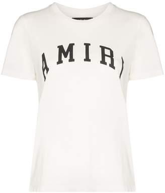 Amiri logo-print crew neck T-shirt