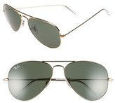 Ray-Ban Original Aviator 58mm Sunglasses