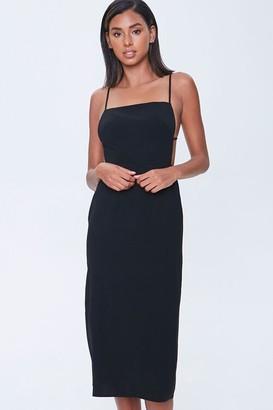 Forever 21 Tie-Back Slip Dress