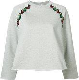 Sonia Rykiel Ric Rac sweatshirt - women - Cotton - M