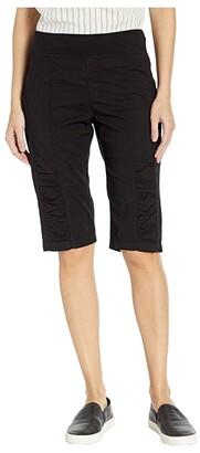 XCVI Tatem Bermuda Shorts (Black) Women's Shorts
