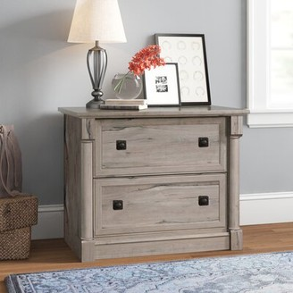 Three Posts Walworth 2-Drawer Lateral Filing Cabinet Color: Split Oak