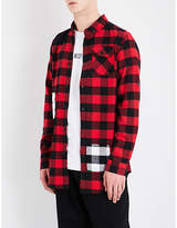 Boy London 1976 Checked Regular-fit Cotton-flannel Shirt