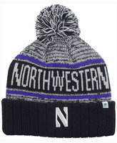 Top of the World Northwestern Wildcats Acid Rain Pom Knit Hat