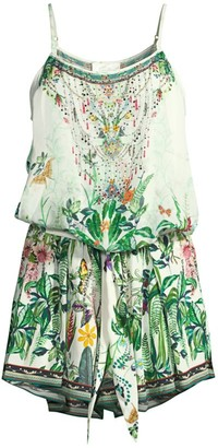 Camilla Mother Silk Romper