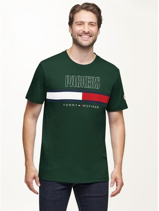 Tommy Hilfiger Green Bay Packers Flag T-Shirt