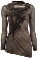 Masnada asymmetric blouse