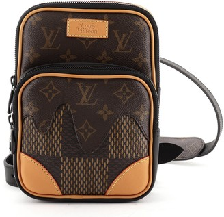 Louis Vuitton Nigo Amazone Sling Bag Limited Edition Giant Damier and Monogram Canvas