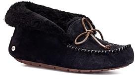 UGG Alena Faux Fur Cuff Slippers