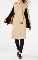 BCBGMAXAZRIA Lambert Cape Trench Coat