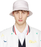 Thom Browne Pink Bucket Hat