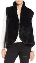 Women's Love Token Faux Fur Vest