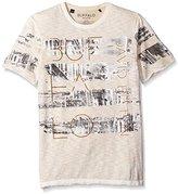 Buffalo David Bitton Men's Tispray Short Sleeve Crewneck Fashion Tee Shirt