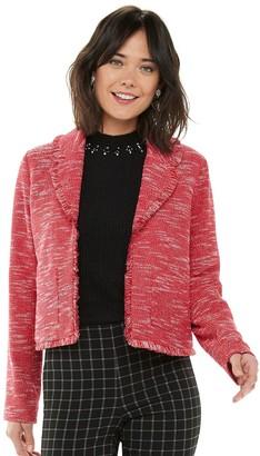 Elle Women's Tweed Jacket