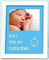Pearhead Pear Head sentiment frame - you are so adorable - blue - 70173 by