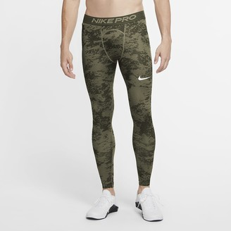 Nike Men's Camo Tights Pro