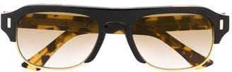 Cutler & Gross 1353-04 Square-Frame Sunglasses
