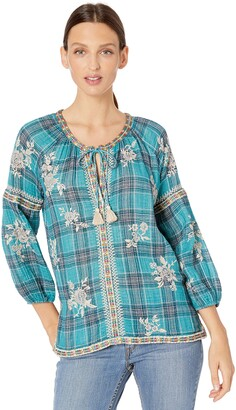 3J Workshop by Johnny was Women's Peasant Blouse