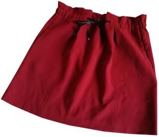 Sandro Burgundy Skirt for Women