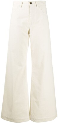 Societe Anonyme Flared Leg Trousers