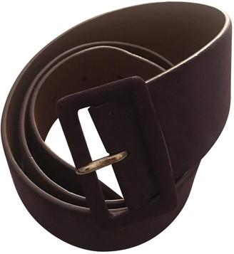 Ralph Lauren Purple Leather Belts