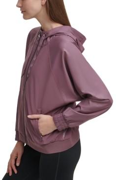 Calvin Klein Shine Blocked Hooded Jacket