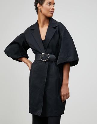 Lafayette 148 New York Plus-Size Italian Chic Outerwear Rosa Coat