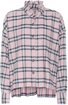 Etoile Isabel Marant Ilaria checked cotton shirt