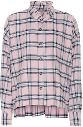 Etoile Isabel Marant Isabel Marant, étoile Ilaria checked cotton shirt