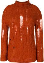 Damir Doma distressed knit jumper