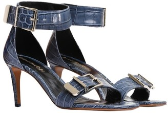 Zimmermann Buckle Two Strap Sandal