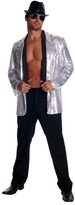 Rubie's Costume Co Silver Sequin Jacket Costume - Men