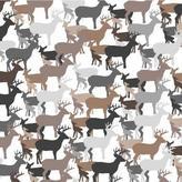 Avalisa Deer Pattern Stretched Print