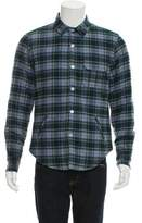 Band Of Outsiders Plaid Shirt Jacket