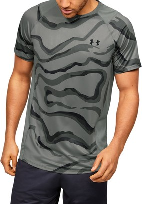 Under Armour Men's UA MK-1 Printed Short Sleeve