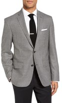 Nordstrom Men's Classic Fit Houndstooth Wool & Cashmere Sport Coat