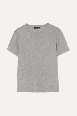 The Row Wesler Cotton-jersey T-shirt - Gray