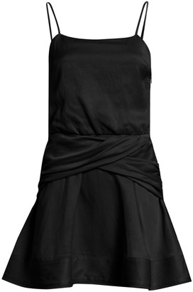 Derek Lam 10 Crosby Cami Flounce Mini Dress