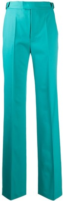ATTICO Belted High-Waist Tailored Trousers