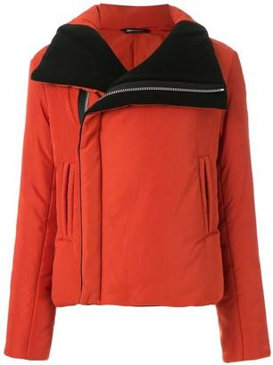 Uma | Raquel Davidowicz Domino puffer biker jacket