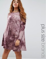 Alice & You Oversized Tie Dye Shift Dress