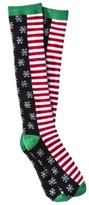 Women's Holiday Knee High Socks - Assorted Colors/Patterns One Size Fits Most