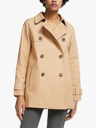John Lewis & Partners A-Line Swing Mac Coat