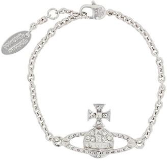 Vivienne Westwood Logo Pendant Chain Bracelet