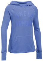 Under Armour Girls 7-16 Waffle Knit Hoodie